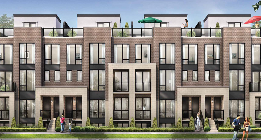 Nature's edge Richmond hill new townhomes